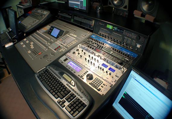 Studio Console Side
