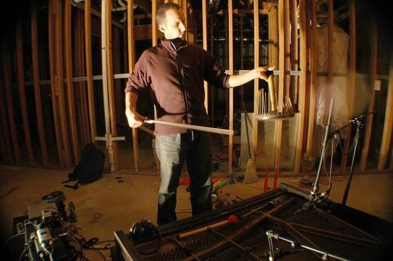 Josh Kay Bowing The Waterphone
