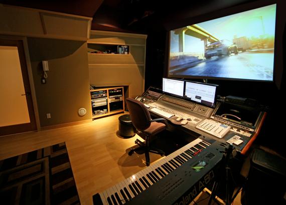 Charles at his Studio