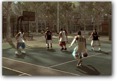 "Game Example: ""NBA Street"""