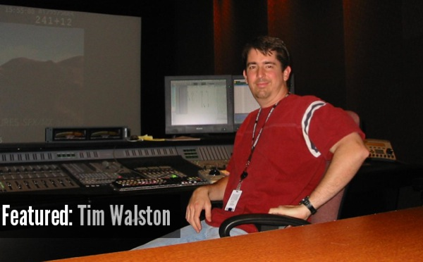 January's Featured Sound Designer: Tim Walston