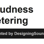 Loudness Webinar Recording Available