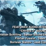 """The Sound of """"Crysis 2"""""""