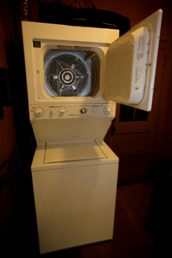 "Washer Dryer used for ""Devastator"""