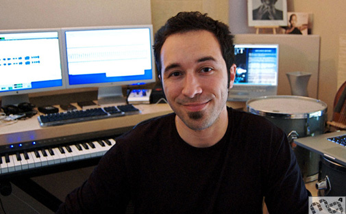 Sound Designer Dieggo Stocco. Photo by Music4Games
