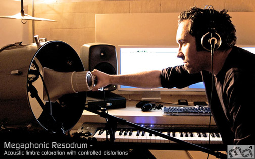 Dieggo Stocco and Metaphonic Resodrum. Photo by M4G