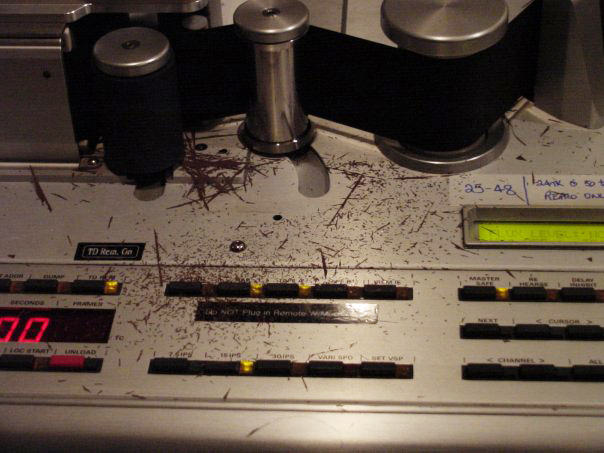 Cutting tape is an art form all to itself, and an expensive one at that.  Experimentation was extremely costly during the purely analog days, which made it harder to venture beyond your specialization (and left your workspace covered in oxide).