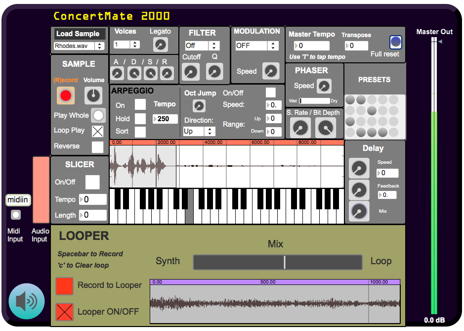 Max msp synthesis patches lyrics