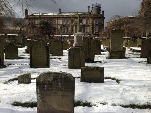 The Houff Graveyard is one of the very many atmospheric locations in Dundee that is a part of the other experience.