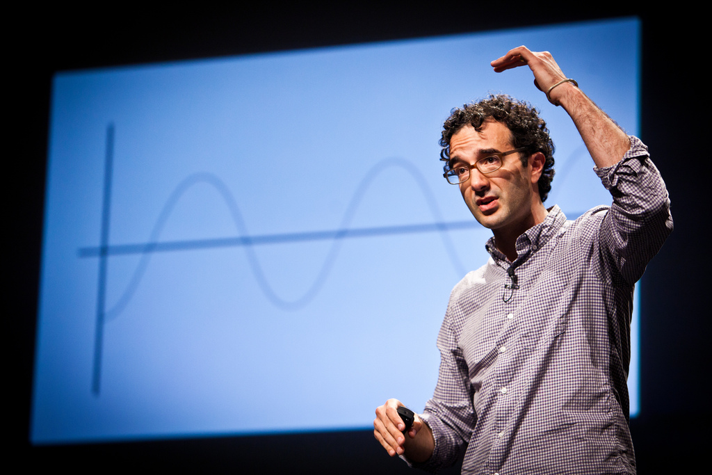 Jad Abumrad at PopTech 2010 - Camden, Maine (Kris Krüg/PopTech via Flickr, used under Creative Commons License)