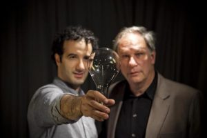 Jad and co-host Robert Krulwich (Radiolab/WNYC)