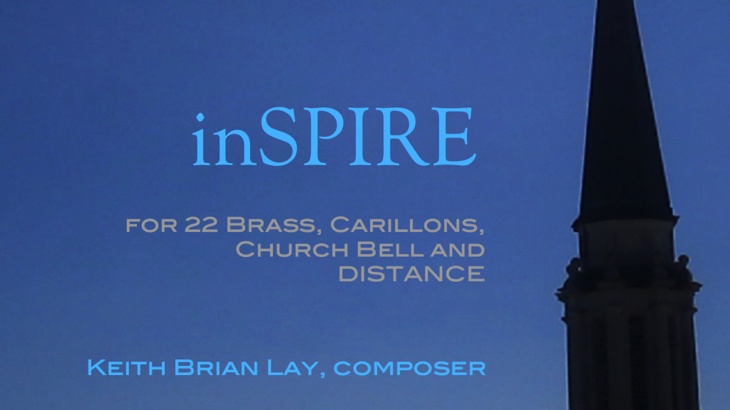inSPIRE for 22 Brass, Carillons, Church Bell and Distance.