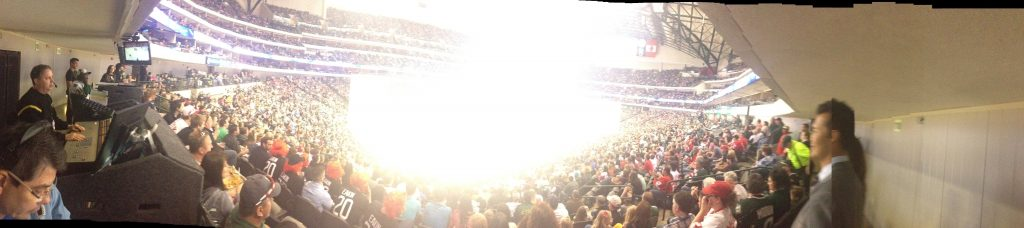 from the audio desk pano