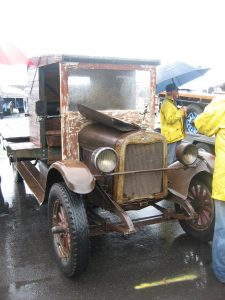 Nearly 90 years old, this Chevrolet lorry still ran.