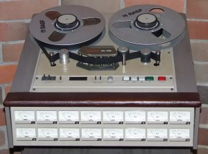 Tascam 16 Track  Tape Recorder - Used under a Creative Commons license. Click image to view source.