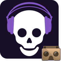 Skeletons vs 3D Audio VR app icon