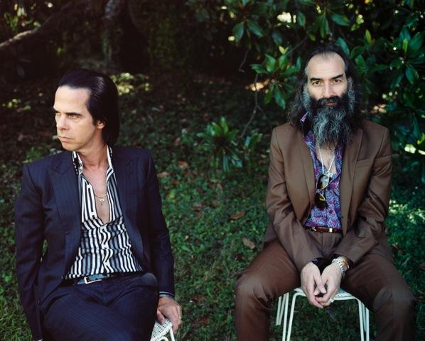 Nick Cave (L) and Warren Ellis (R)