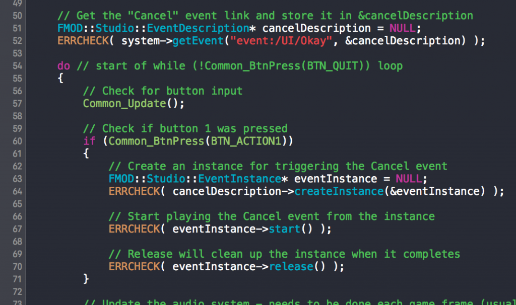 An example of Xcode's Dusk theme.