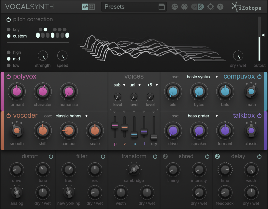VocalSynth final screenshot cropped