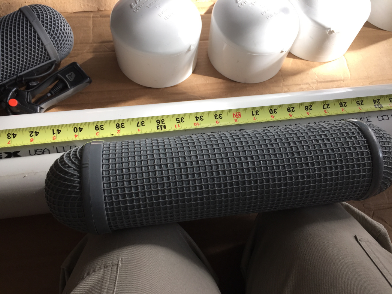 Measuring a Rycote WS4 Windshield
