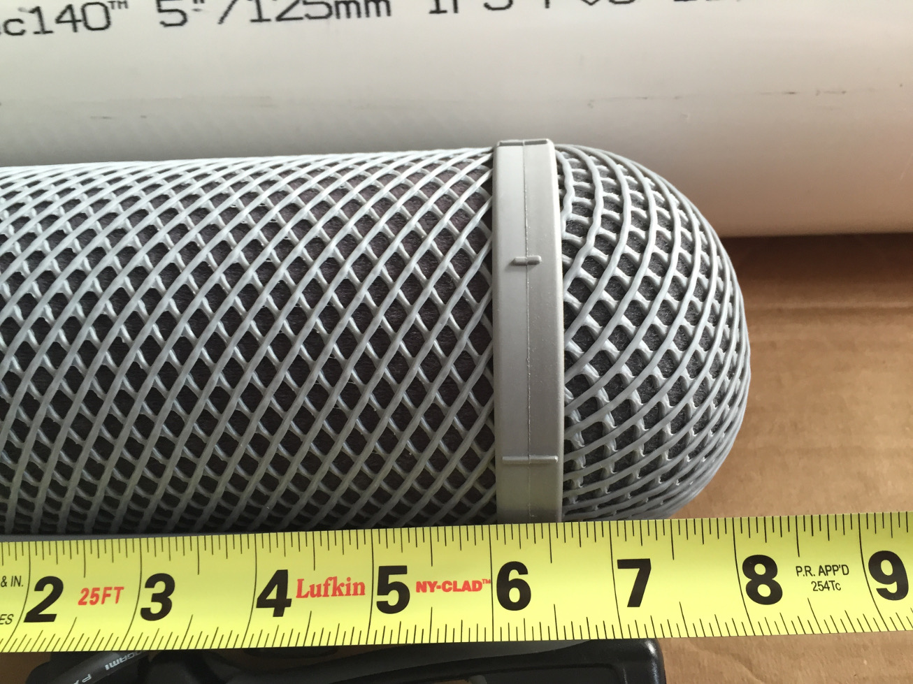 Measuring length of Rycote WS2