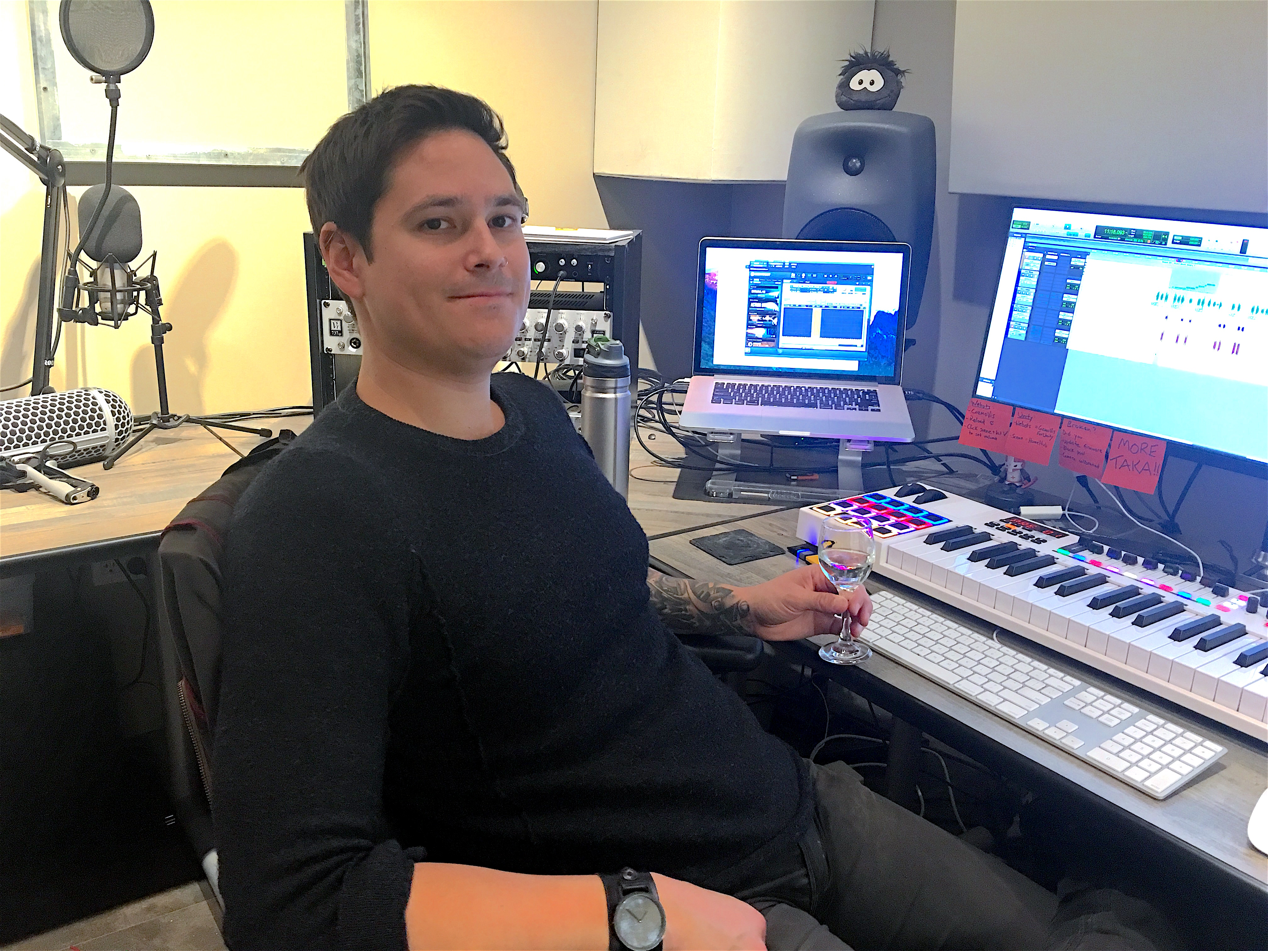 Sound for Robots: An Interview with Sr  Sound Designer Ben