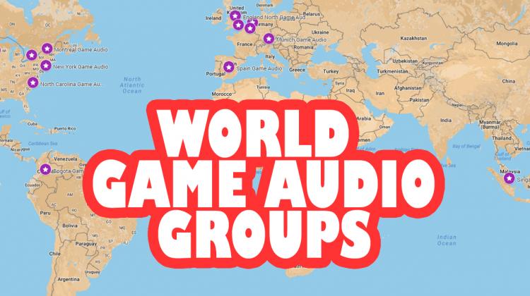Worldwide Game Audio Groups