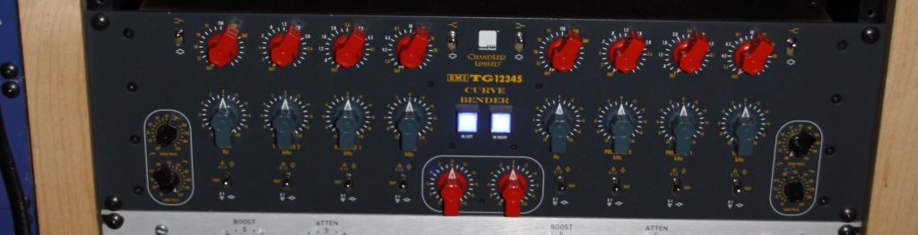 Chandler's Curve Bender is a replica of the original EMI Abbey Road Mastering EQ.