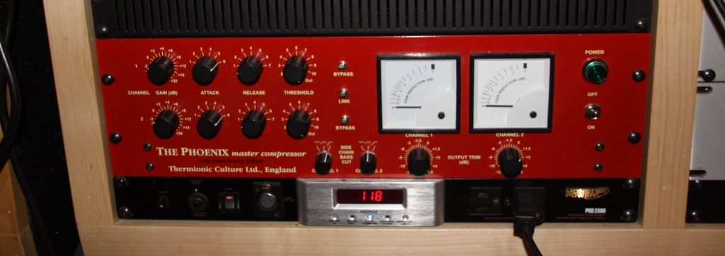The Phoenix Compressor from Thermionic Culture in England.