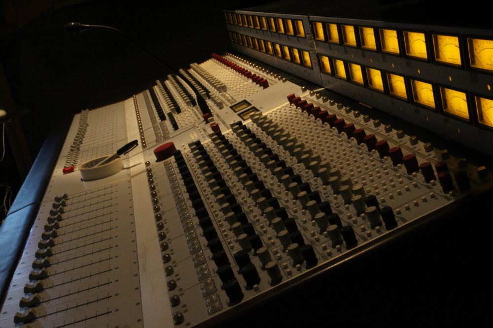 The Rupert Neve Designs 5088 analog console.