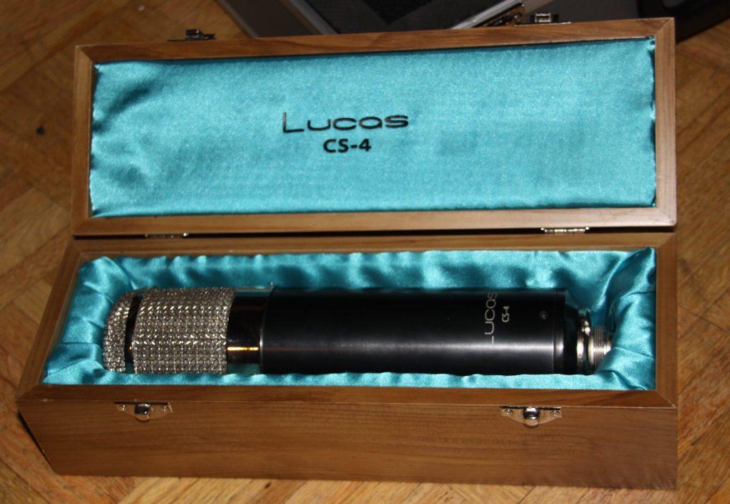 The Lucas CS-4 Tube Condenser Microphone.