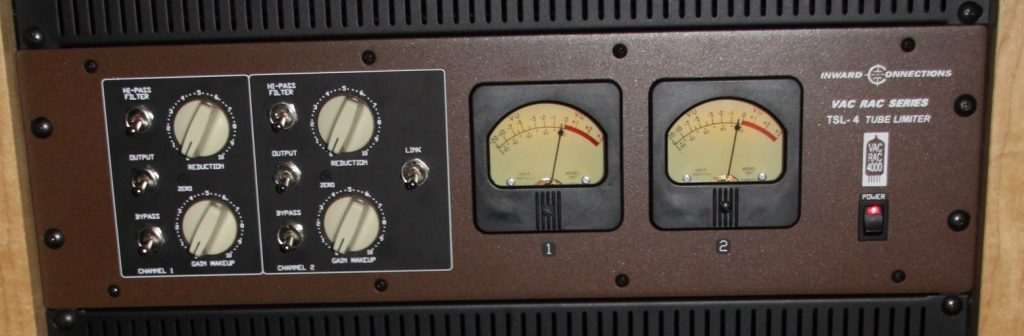 The Vac Rac TSL-4 tube limiter/compressor.