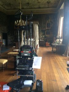 The Favourite - Rashads cart on set