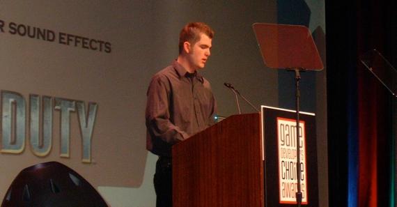 Chuck_Russom_GDC_Award