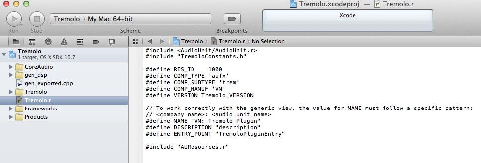 tremrXcode