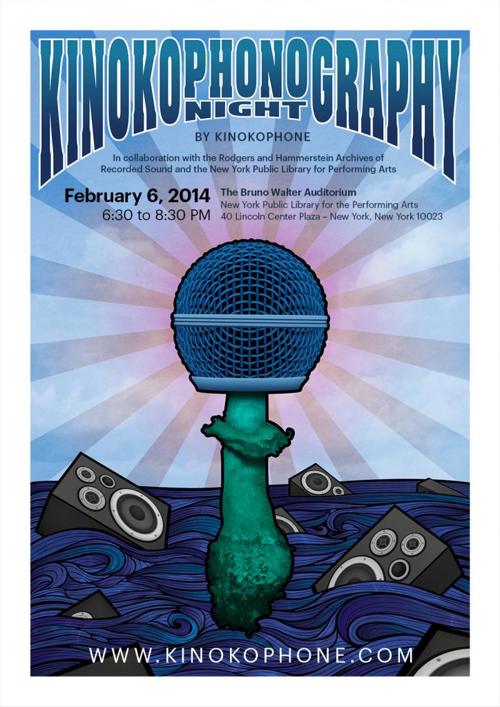 Kinokophonography Poster [Web RGB 72 DPI]