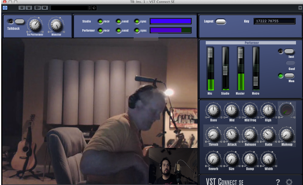 Testing out Steinberg Cubase VST Connect and its remote recording capabilities with Veit Renn