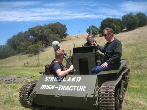 The Bren Carrier is a great vehicle to capture isolated Track sounds. It is small and easy to work with.