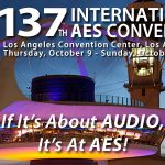 Join Designing Sound at the AES 137 Conference in Los Angeles!