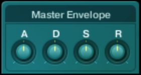 "Native Instruments ""Absynth"" - Master Envelope Controls"