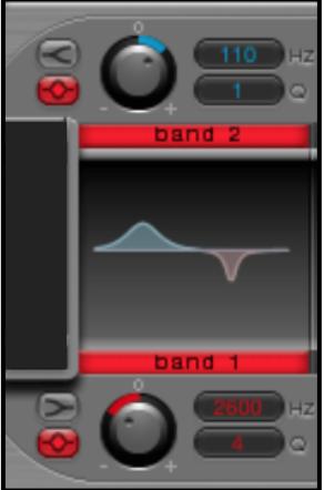 """Logic Pro's  """"Ultrabeat"""" — EQ Section —"""