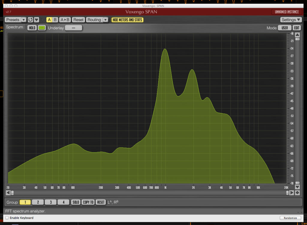 The amazing Voxengo SPAN. One of the most generous freeware plugins available.