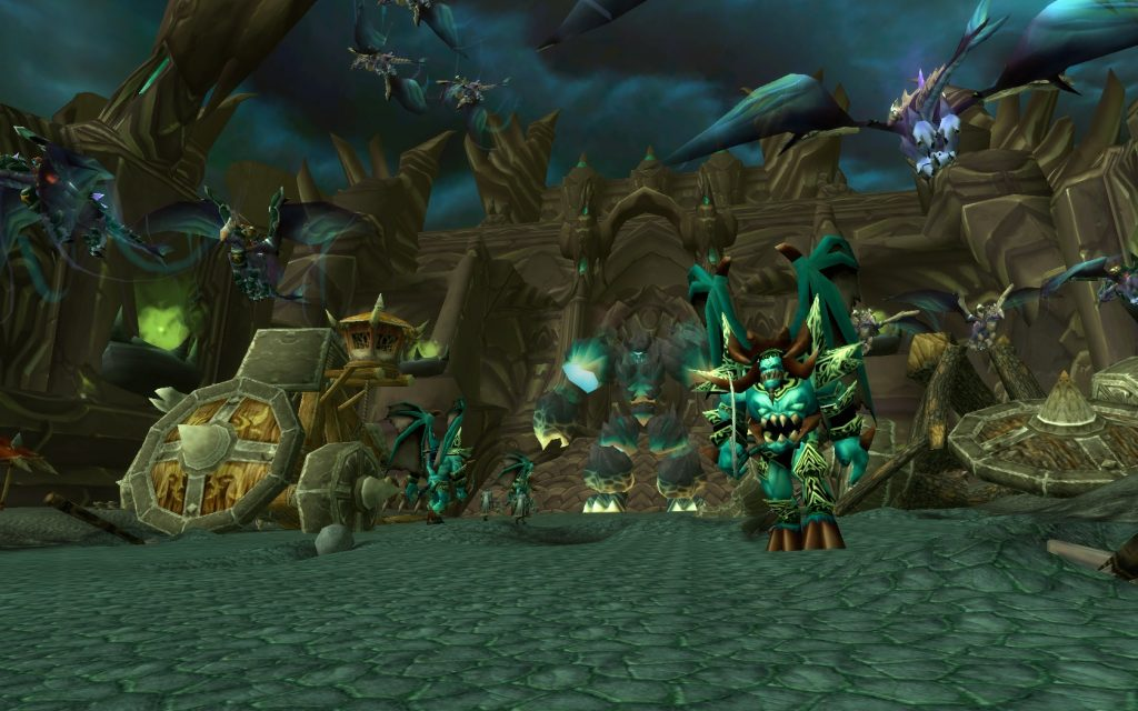 Black Temple has some of my favortie ambiences in WoW.