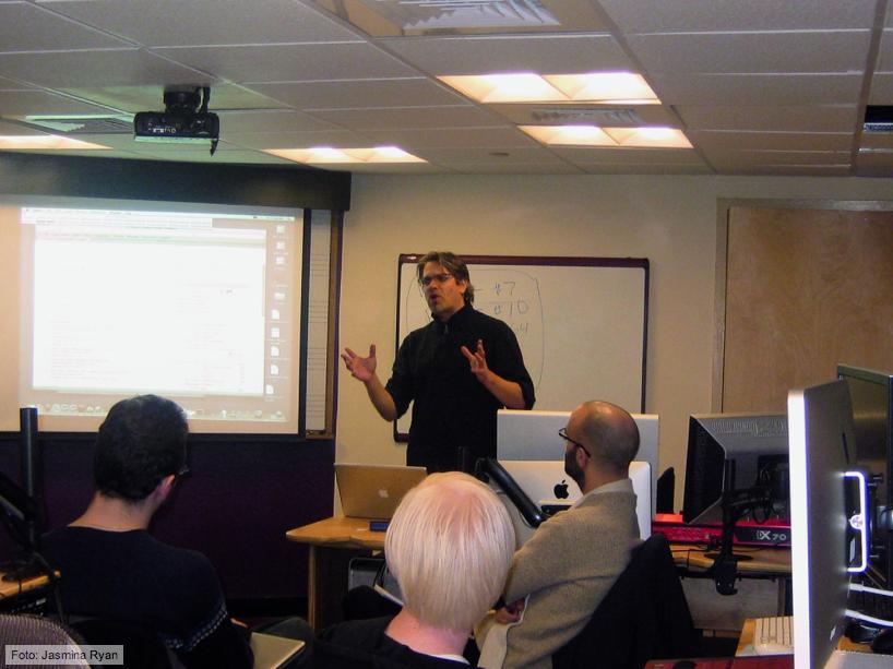 Michael teaching at Berklee College of Music