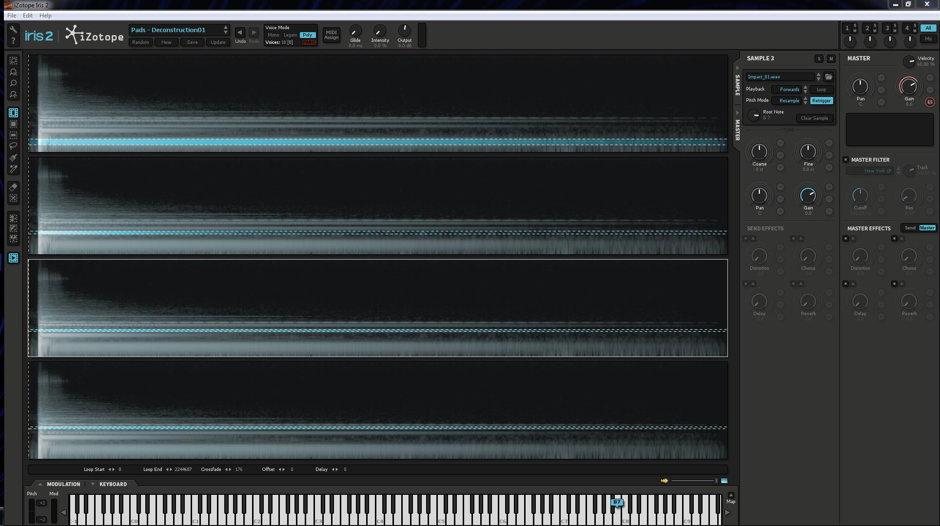 Harmonic selections 1, 2, 3 & 4