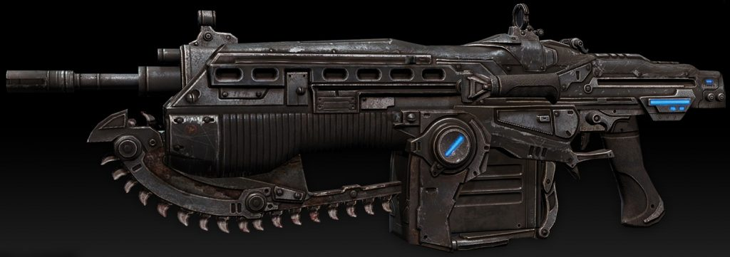 The Mark 2 Lancer Assault Rifle created by Epic Games. Article written by Adriane Kuzminski.