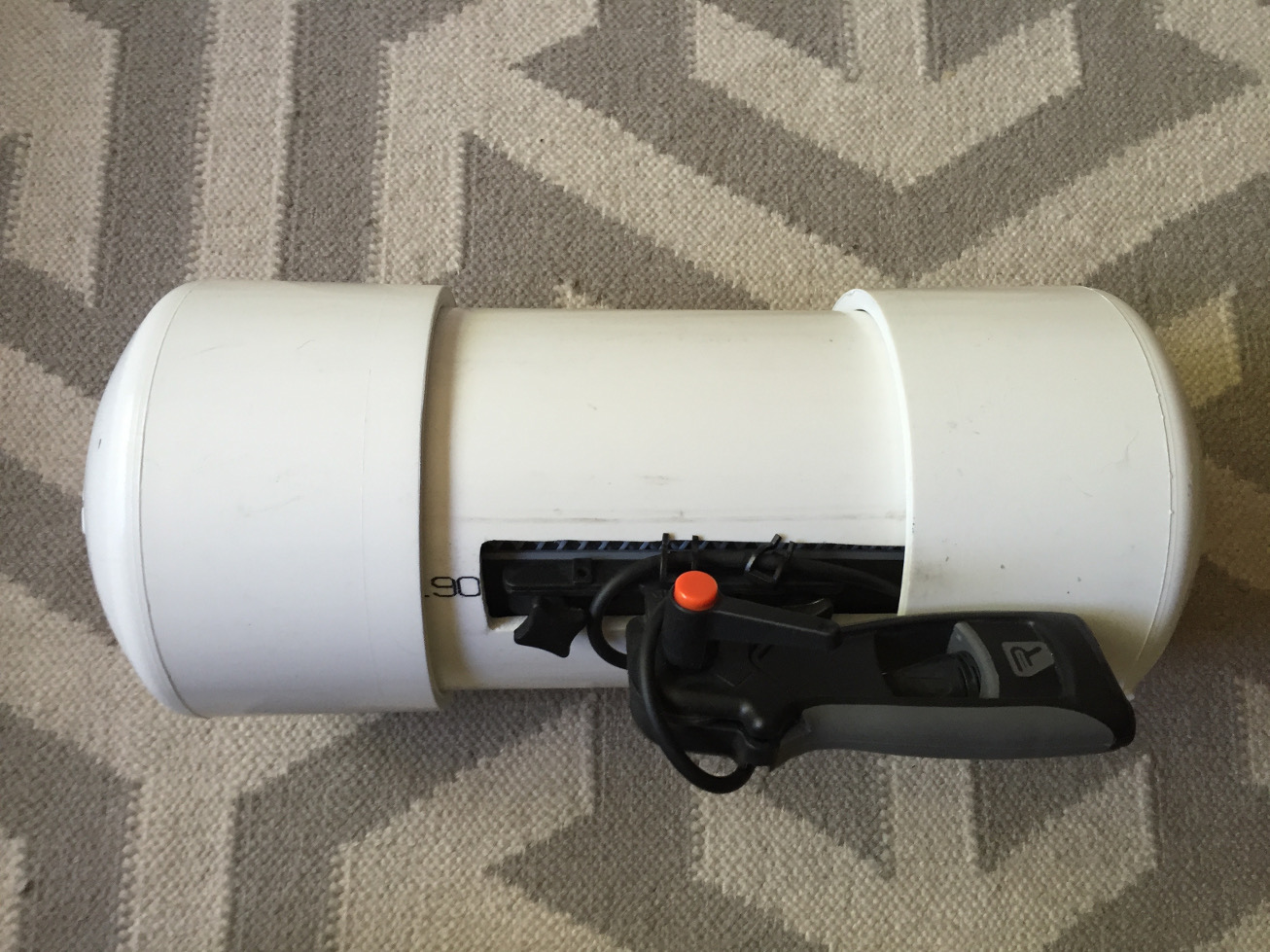 Windshield case for Rycote WS2 made from PVC pipe