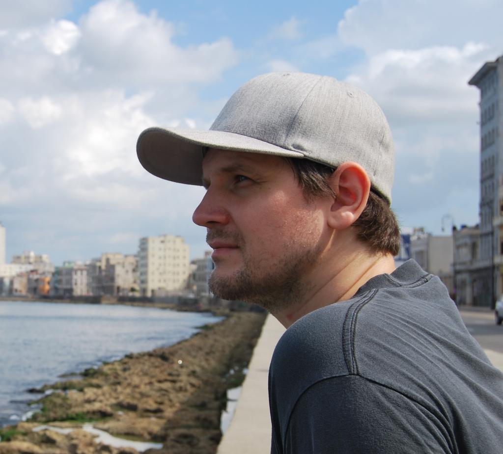 Per Anders Östblad looks outward from the coast of Gothenburg, Sweden. Interview by Adriane Kuzminski.