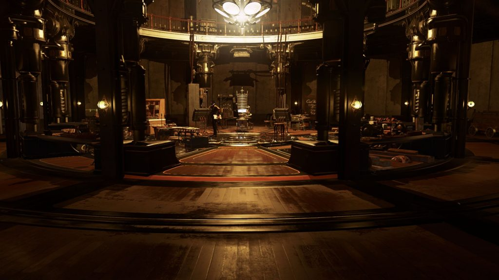 The Clockwork Mansion takes pride in its luxurious wooden floors and Steampunk technology