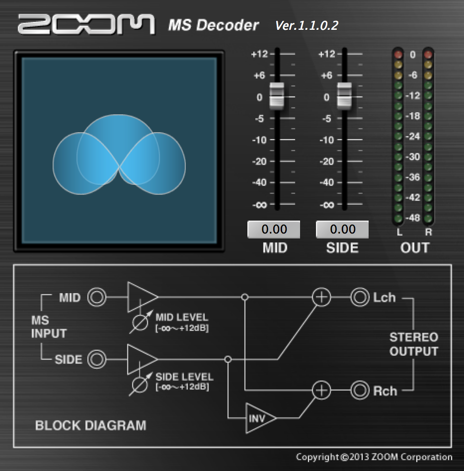 Zoom MS Decoder VST Plug-in